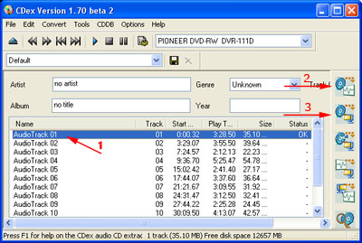 Convertire (rippare) da cd audio (cda) a formato mp3 e wav