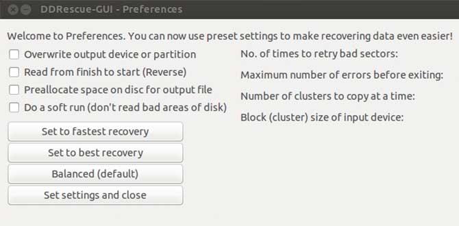 Software DDrescue Linux
