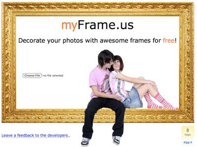 Creare online le cornici per le tue foto for Cornici online per foto