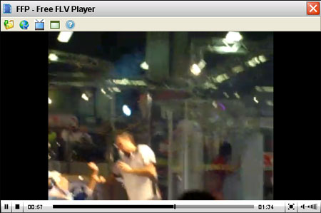 Player video per leggere file FLV e MP4
