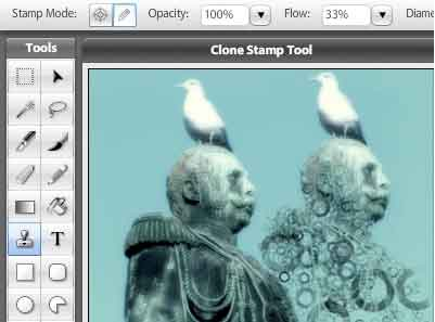 strumento stampa clone