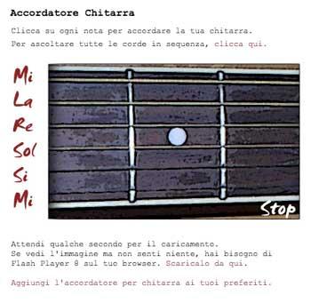 ACCORDATORE DI CHITARRA CLASSICA GRATIS SCARICA