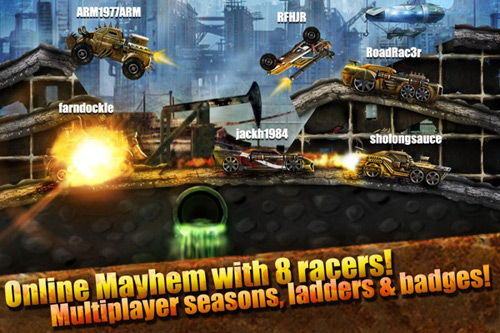 Immagine del gioco Road Warrior Racing Multiplayer