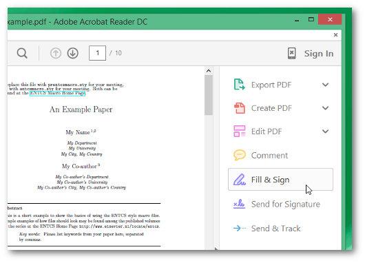 come firmare un file pdf