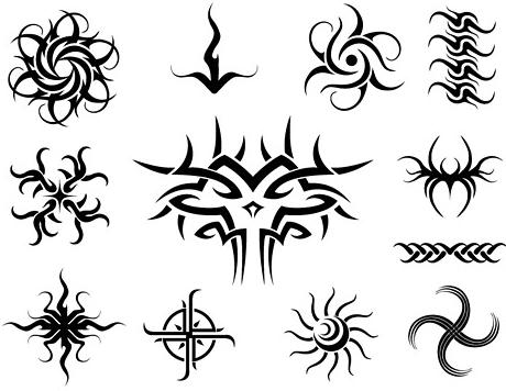 Disegni per tatuaggi tribali maori stelle fiori e fate for Immagini teschi disegnati