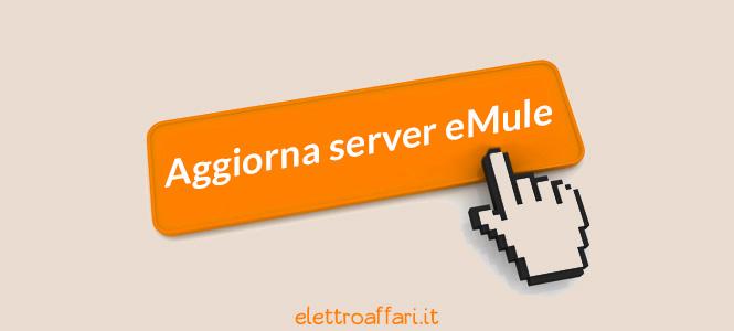 Aggiornare la lista dei server eMule con un click