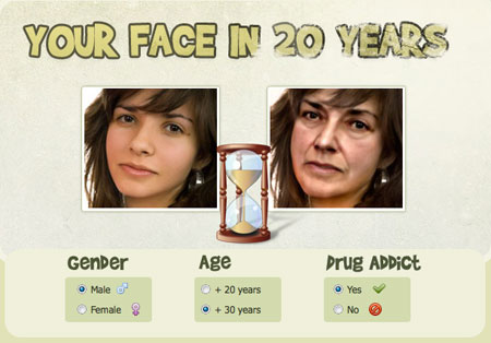 Come invecchiare il viso di una foto