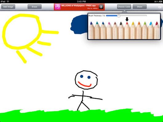Draw Free per disegnare con l'iPad