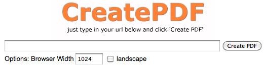 Come scaricare siti in PDF