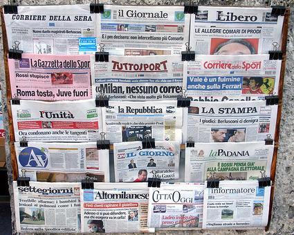 tutti i quotidiani e i giornali online