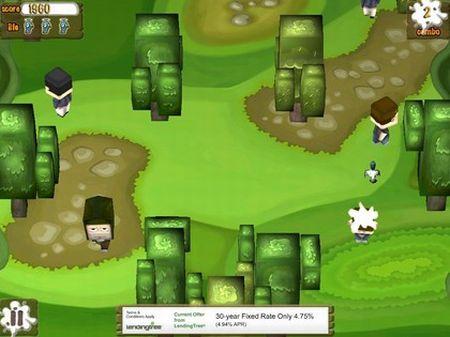 screen shot di uno dei giochi per ipad