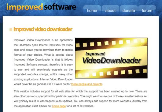 interfaccia di Improved Software