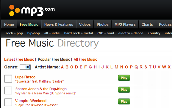 free mp3 downloads online download
