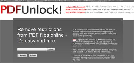 home pdf unlock