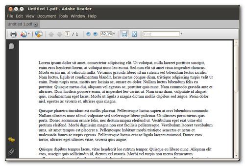 adobe rearer per linux