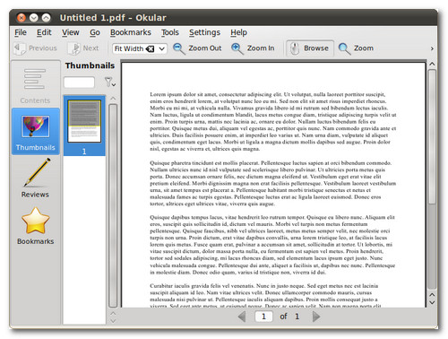 okular pdf