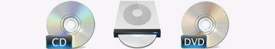Masterizzazione di CD, DVD e DVD DL
