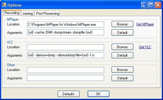 compilazione campi di default