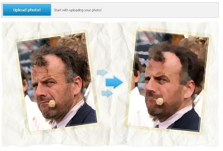 esempio trasformazione foto