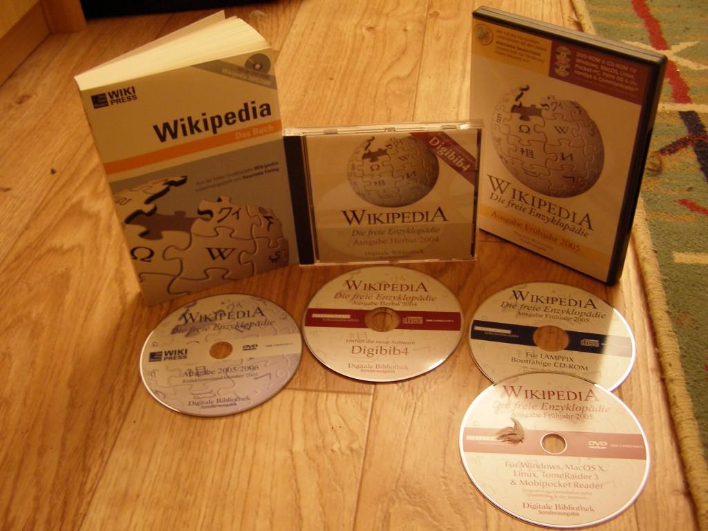 esempio wikipedia su CD