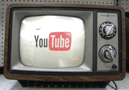 youtube con televisione