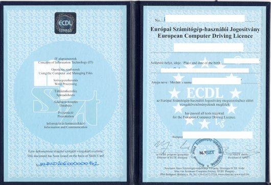 esempio di patente europea