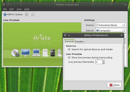 prima interfaccia del convertitore linux
