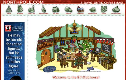 Elf clubhouse