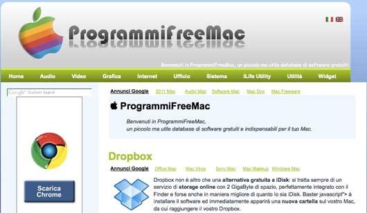 programmi free mac