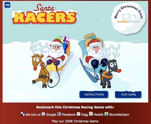santa race