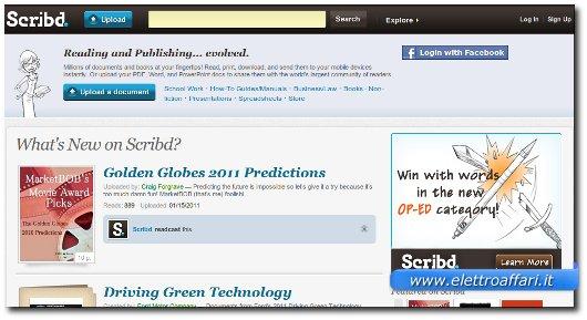 Lista siti per scaricare libri da internet for Siti dove acquistare libri
