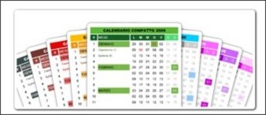 calendario 2011 compatto
