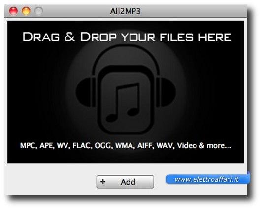 convertire flac con mac