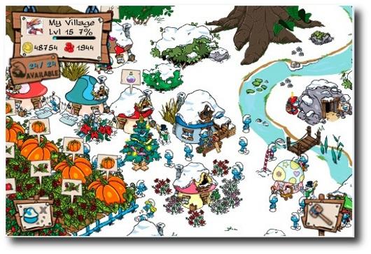 smurf's village gioco