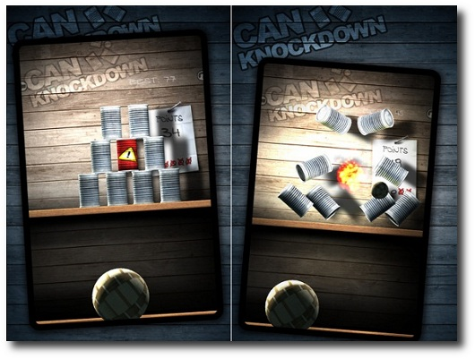 gioco can knockdown