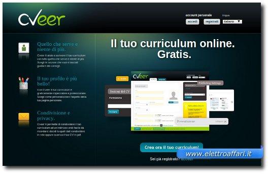 curriculum vitae da compilare online