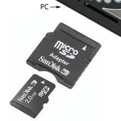 Inserire Micro SD nel PC