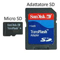 Esempio di Micro SD con Adattatore SD