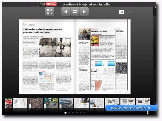 esempio di rivista online