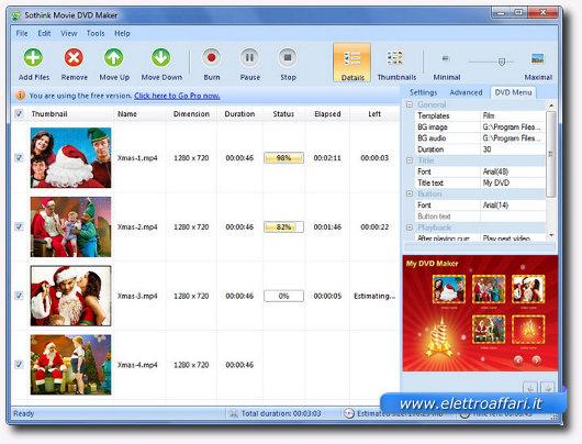 Programma gratis per creare dvd con video avi mp4 flv mkv - Programma per creare cucine gratis ...