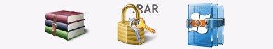 trovare password dei file rar