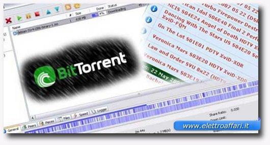 utilizzo dei file torrent