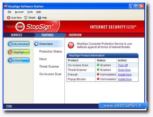 stopsign internet security