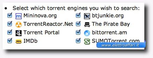 segnalazione siti torrent