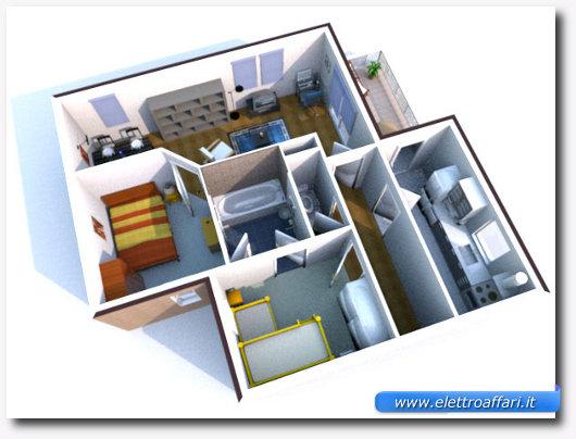 programma gratis per la progettazione di interni in 3d