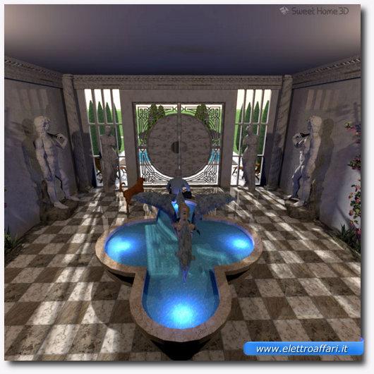 Programma gratis per la progettazione di interni in 3d for Programma arredamento 3d