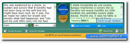 sdl free translate
