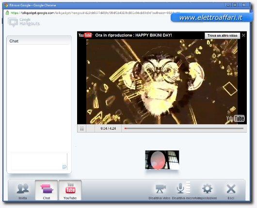 video chat di google plus