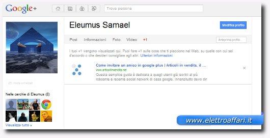 tasto +1 in google plus