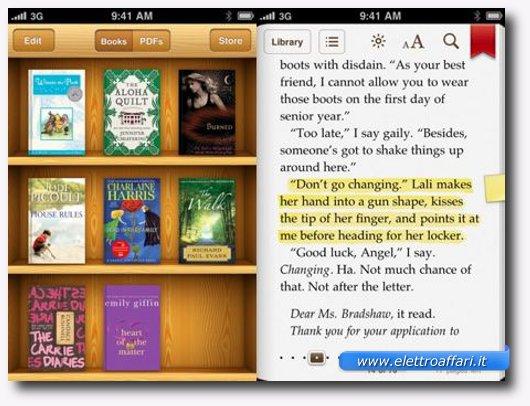 ibooks per ipad e iphone